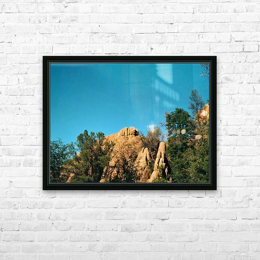 A Rock Hill HD Sublimation Metal print with Decorating Float Frame (BOX)