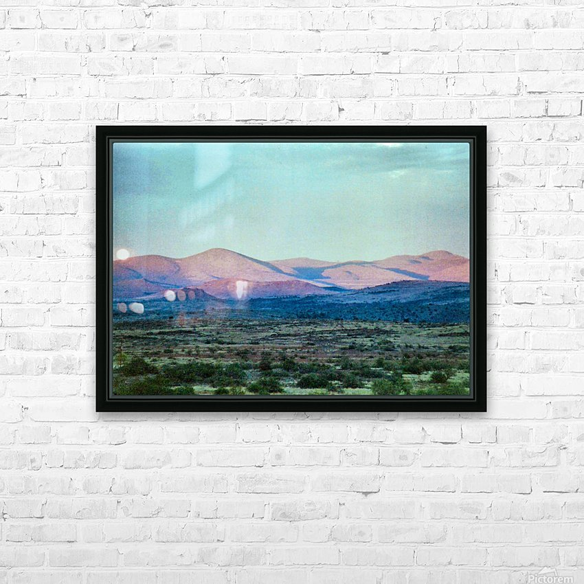 Landscape After A Rain HD Sublimation Metal print with Decorating Float Frame (BOX)