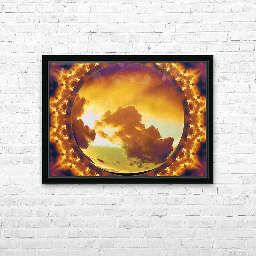 More Manipulation  HD Sublimation Metal print with Decorating Float Frame (BOX)