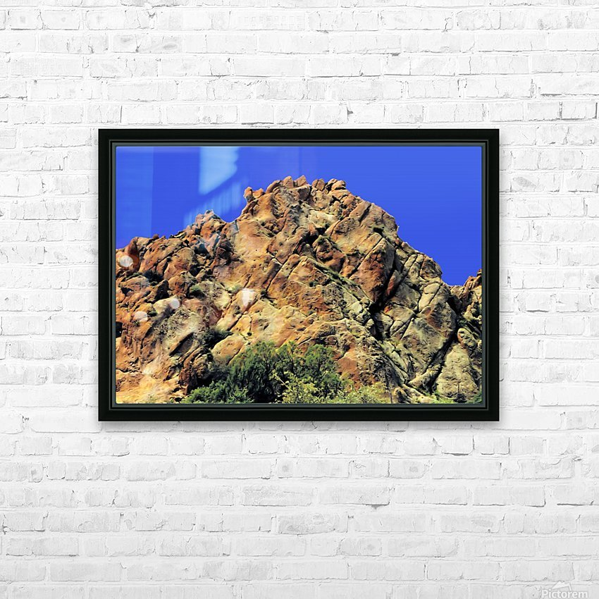Another Rock Hill  HD Sublimation Metal print with Decorating Float Frame (BOX)