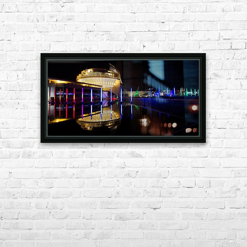 Casino de Montreal HD Sublimation Metal print with Decorating Float Frame (BOX)