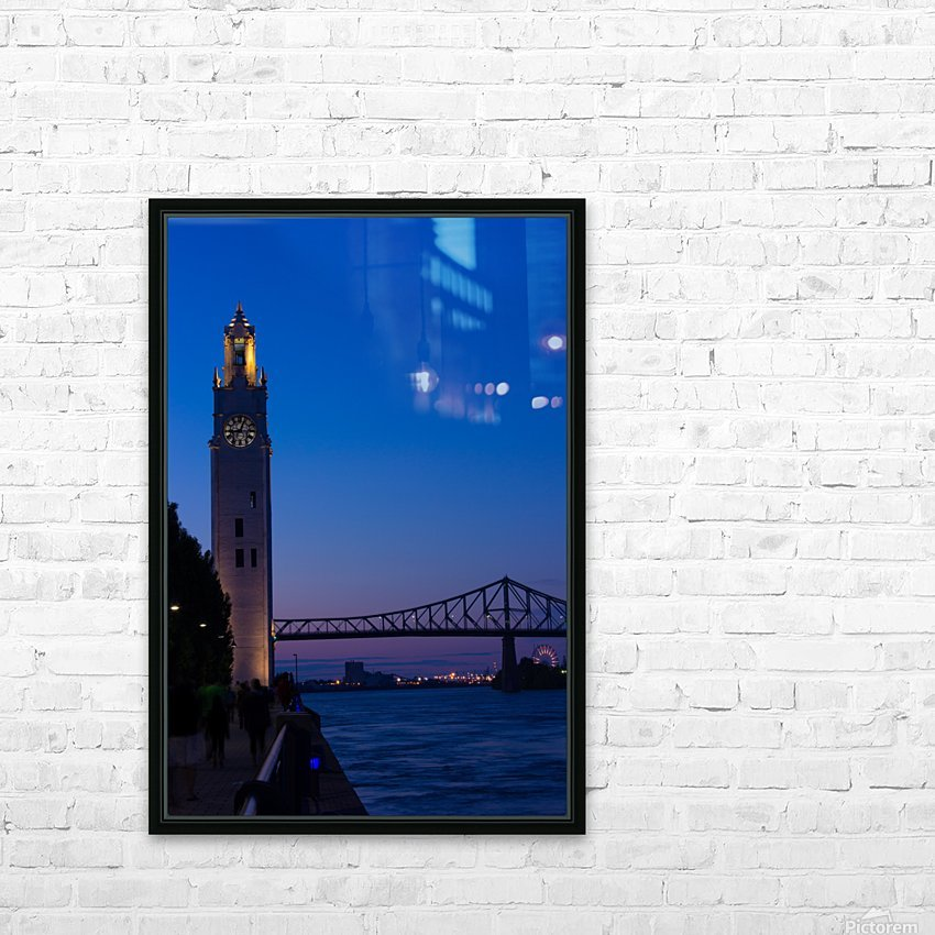 All Along the Clock Tower HD Sublimation Metal print with Decorating Float Frame (BOX)