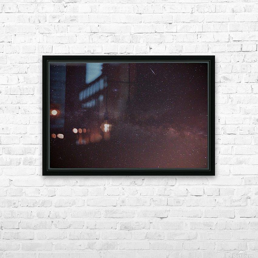 Celestial celebration HD Sublimation Metal print with Decorating Float Frame (BOX)
