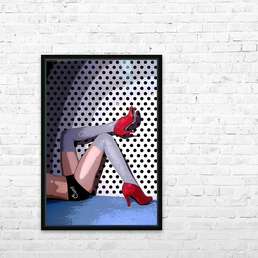 C*NT HD Sublimation Metal print with Decorating Float Frame (BOX)
