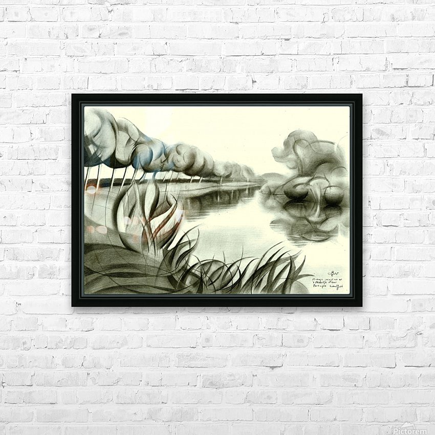 Strange goings on at 't Meertje - 10-02-16 HD Sublimation Metal print with Decorating Float Frame (BOX)