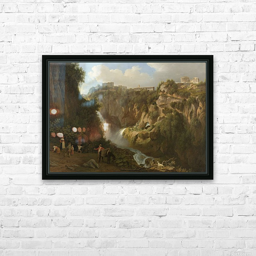 De waterval van Tivoli HD Sublimation Metal print with Decorating Float Frame (BOX)