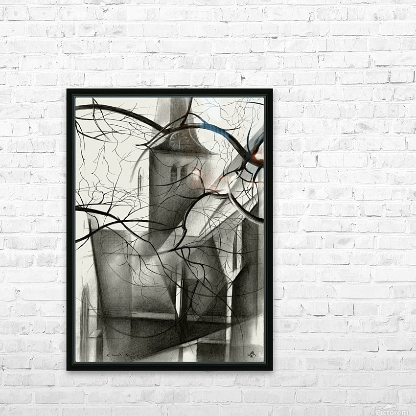 Rijswijk - 04-12-15 HD Sublimation Metal print with Decorating Float Frame (BOX)