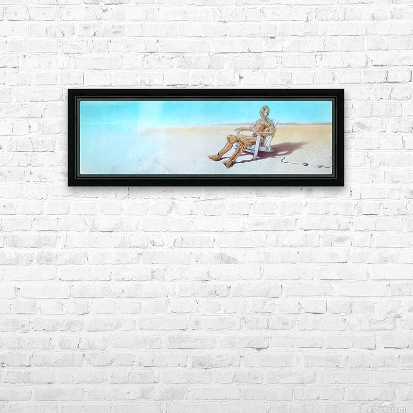 holidays HD Sublimation Metal print with Decorating Float Frame (BOX)