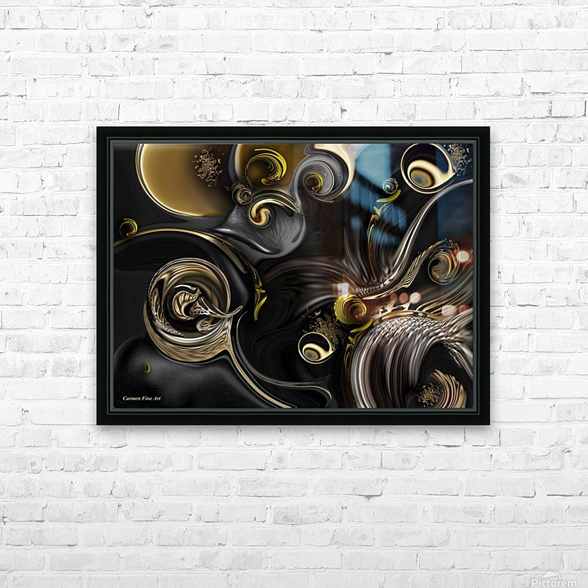 Act Including Instant Creation HD Sublimation Metal print with Decorating Float Frame (BOX)
