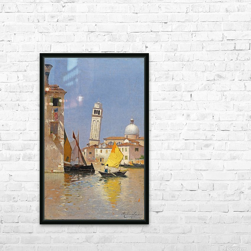 San Pietro di Castello HD Sublimation Metal print with Decorating Float Frame (BOX)