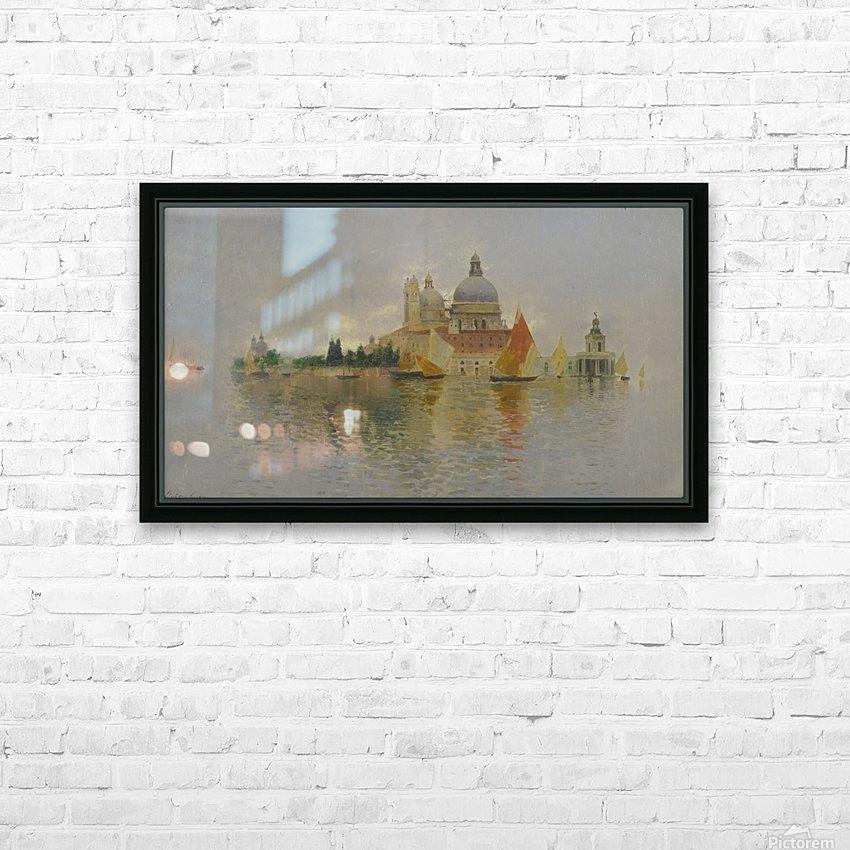 Punta della Dogana HD Sublimation Metal print with Decorating Float Frame (BOX)