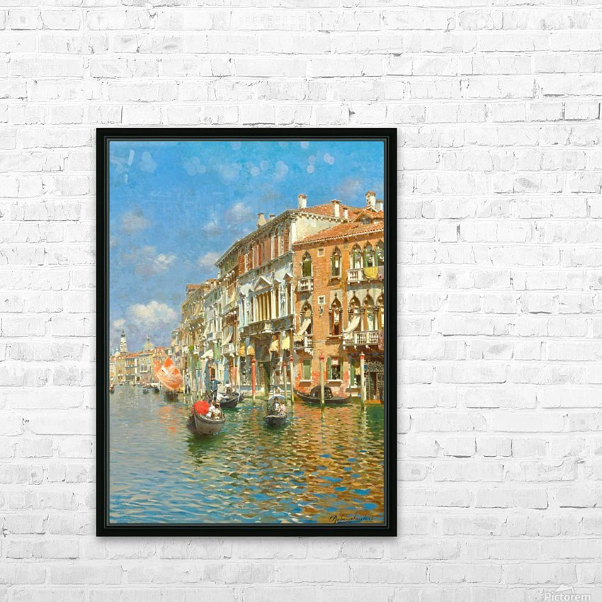 Palazzo Contarini Dalle Figure HD Sublimation Metal print with Decorating Float Frame (BOX)