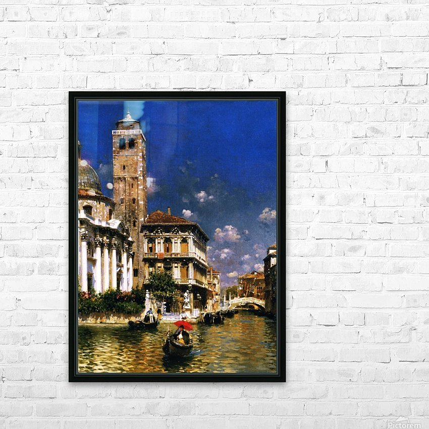 San Geremia, with Palazzo Labia, Venice HD Sublimation Metal print with Decorating Float Frame (BOX)