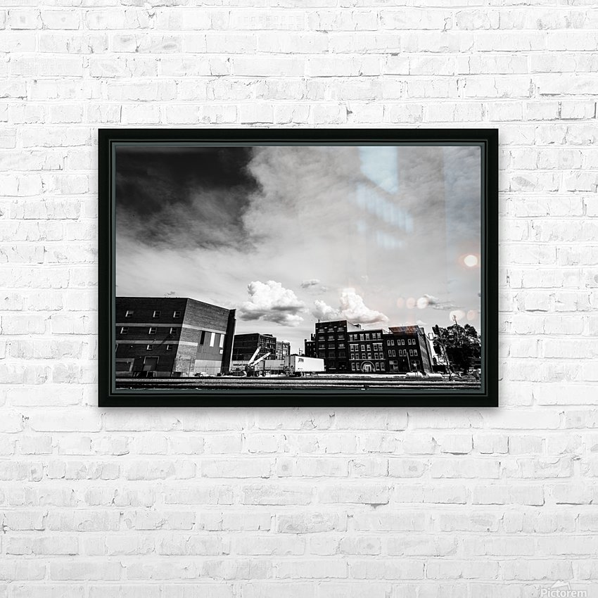 Gloomy Doom HD Sublimation Metal print with Decorating Float Frame (BOX)