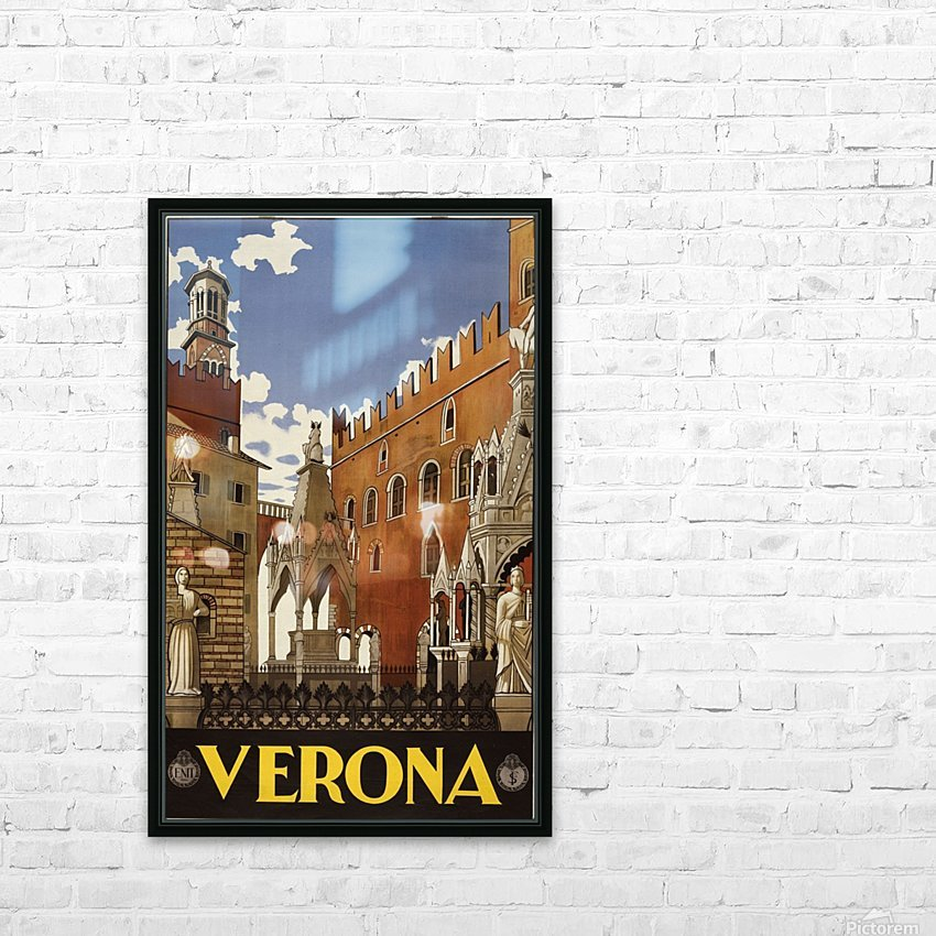 Verona HD Sublimation Metal print with Decorating Float Frame (BOX)