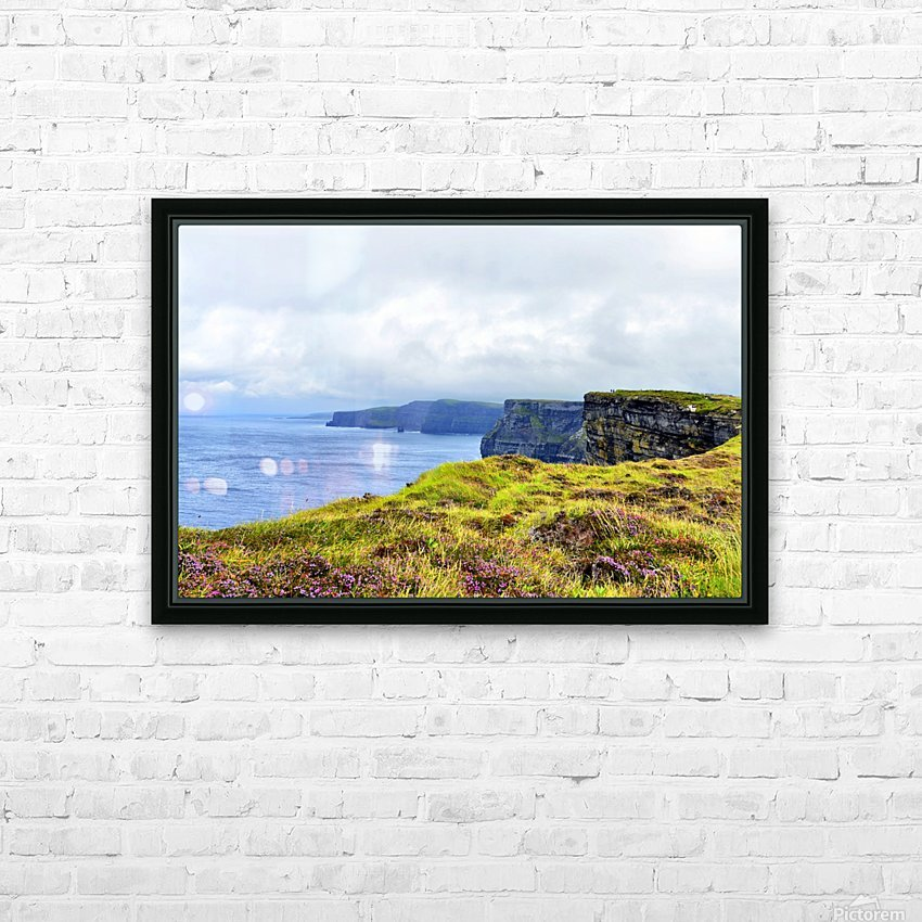 CLIFFS OF MOHER 10 HD Sublimation Metal print with Decorating Float Frame (BOX)