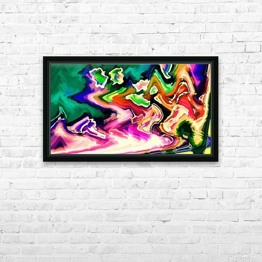 hirarka  HD Sublimation Metal print with Decorating Float Frame (BOX)