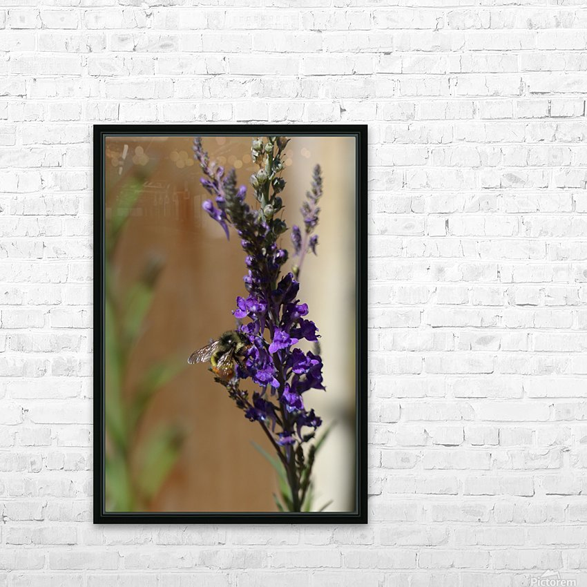 Bee Love HD Sublimation Metal print with Decorating Float Frame (BOX)