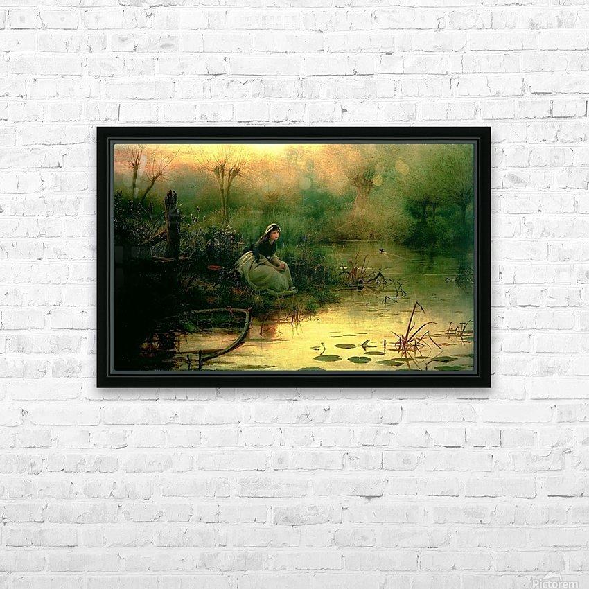 Willow from Hamlet HD sublimation métal imprimé avec décoration flotteur cadre (boîte)