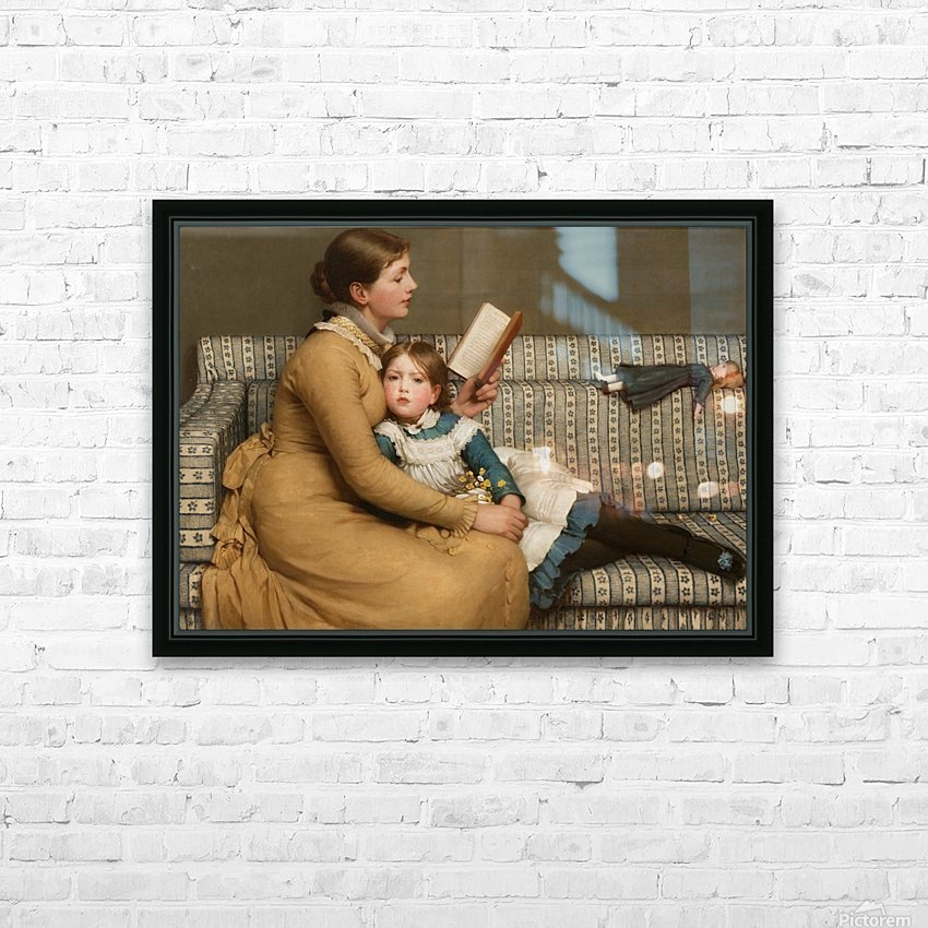 Alice in Wonderland HD Sublimation Metal print with Decorating Float Frame (BOX)