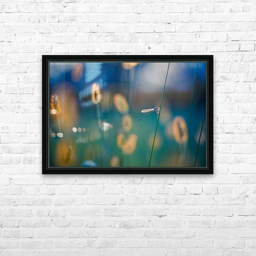 Autumn meadow HD Sublimation Metal print with Decorating Float Frame (BOX)
