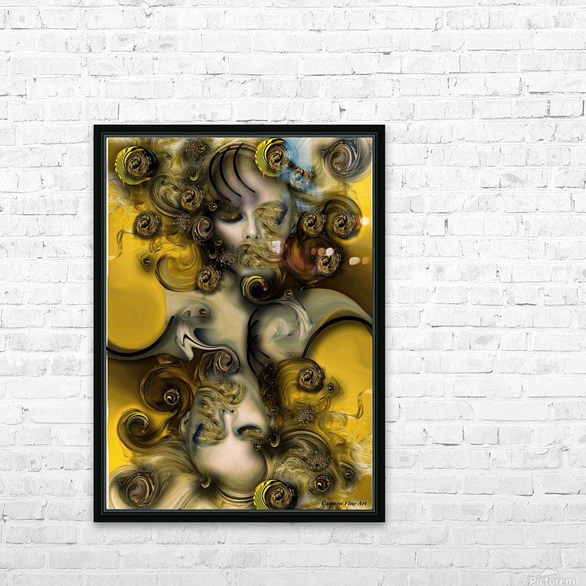 Movement with Venus HD Sublimation Metal print with Decorating Float Frame (BOX)