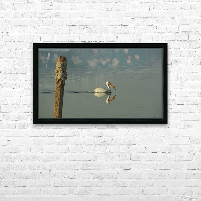Offshore HD Sublimation Metal print with Decorating Float Frame (BOX)