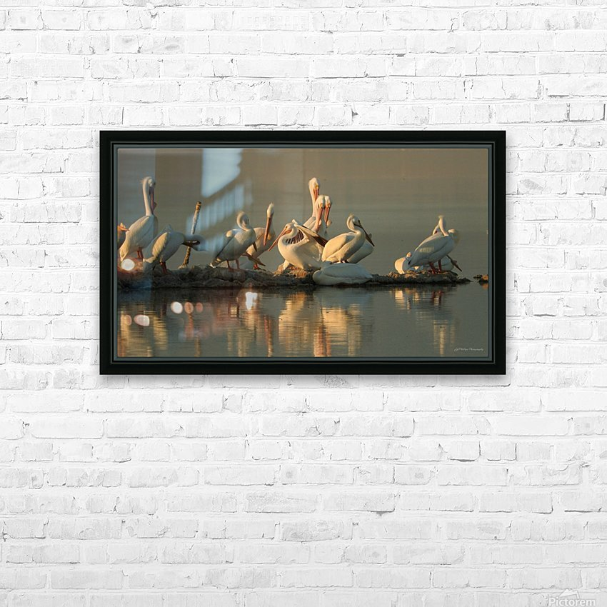 Love At First Sight HD Sublimation Metal print with Decorating Float Frame (BOX)