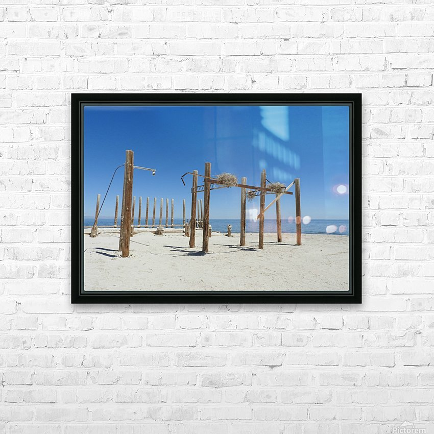 Lost HD Sublimation Metal print with Decorating Float Frame (BOX)