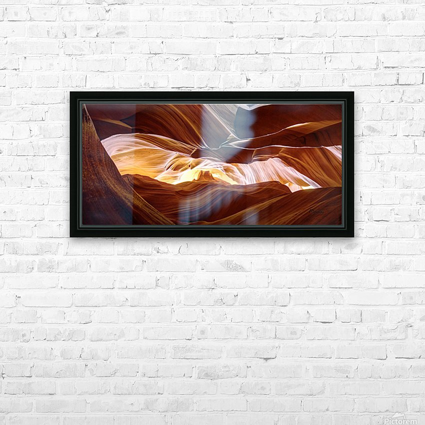 Antelope HD Sublimation Metal print with Decorating Float Frame (BOX)