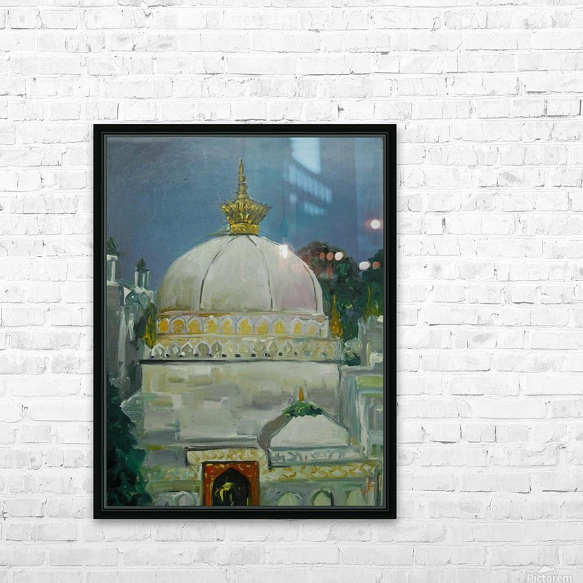dargah  HD Sublimation Metal print with Decorating Float Frame (BOX)