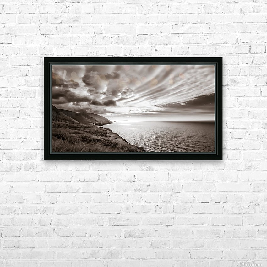 Breakthrough Skies HD Sublimation Metal print with Decorating Float Frame (BOX)