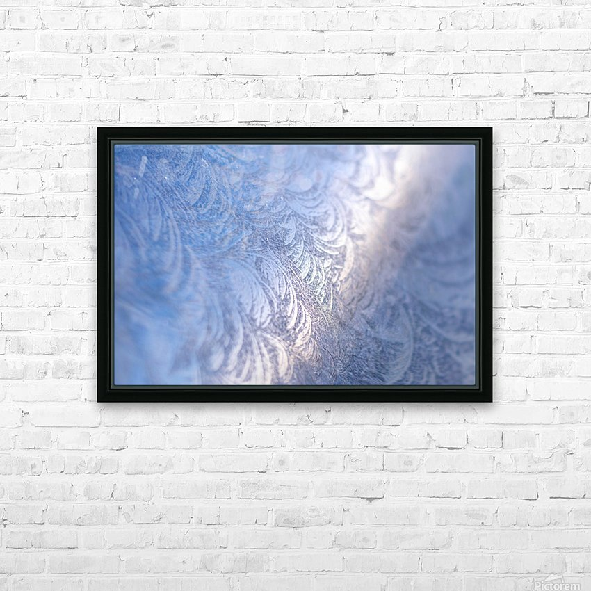Whorls HD Sublimation Metal print with Decorating Float Frame (BOX)