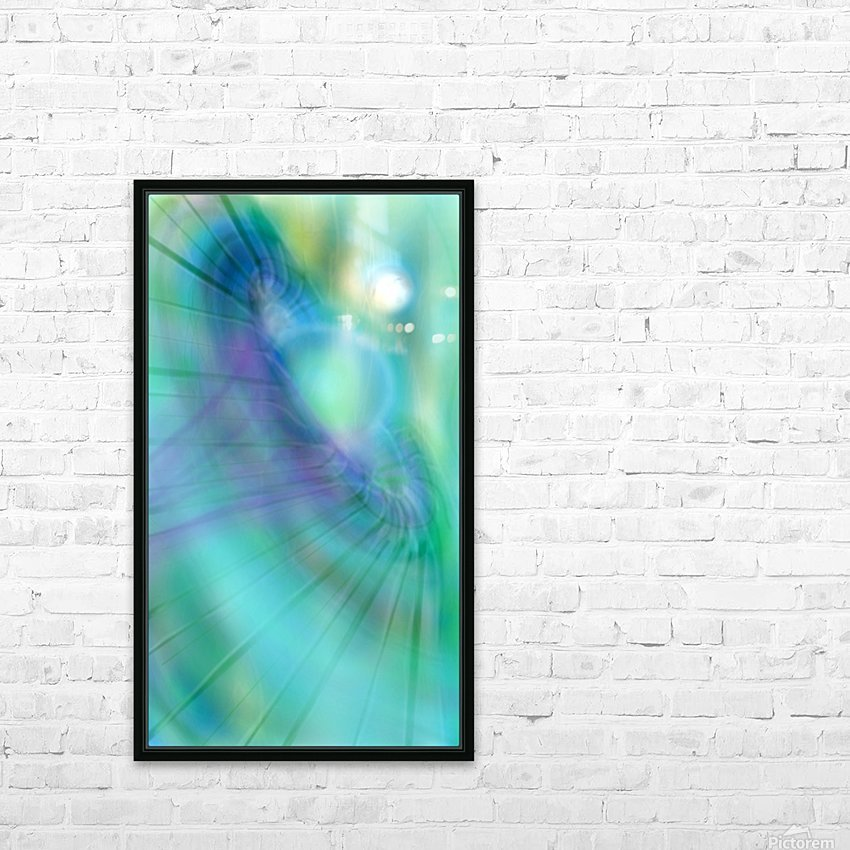 The Hole HD Sublimation Metal print with Decorating Float Frame (BOX)