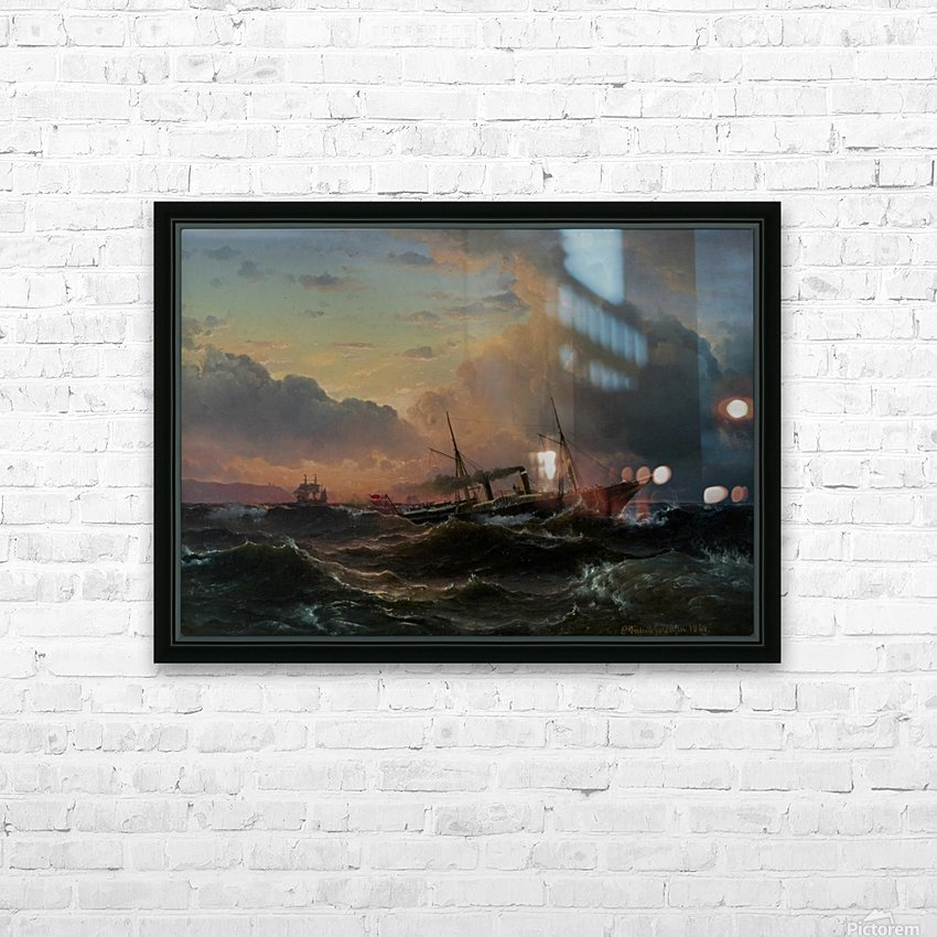 The Princess Louise off the coast of Norway HD Sublimation Metal print with Decorating Float Frame (BOX)
