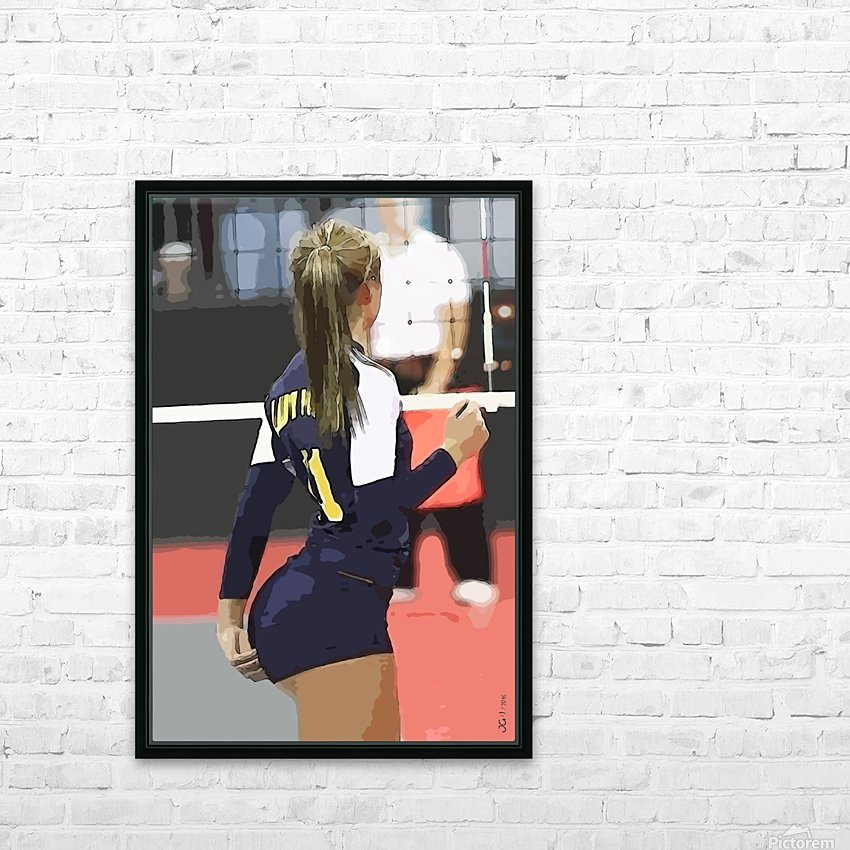 Athletics_68 HD Sublimation Metal print with Decorating Float Frame (BOX)