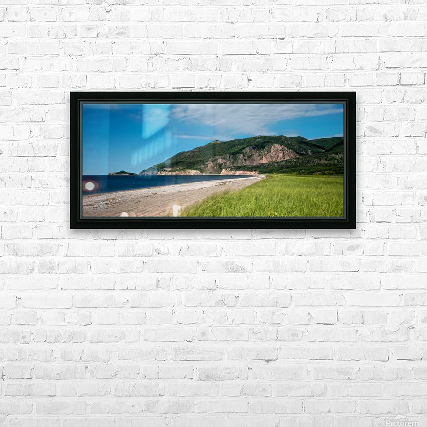 Petit Etang Beach Memories HD Sublimation Metal print with Decorating Float Frame (BOX)