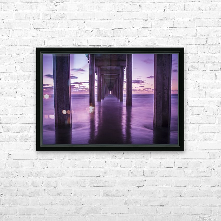 Infinite Loop HD Sublimation Metal print with Decorating Float Frame (BOX)