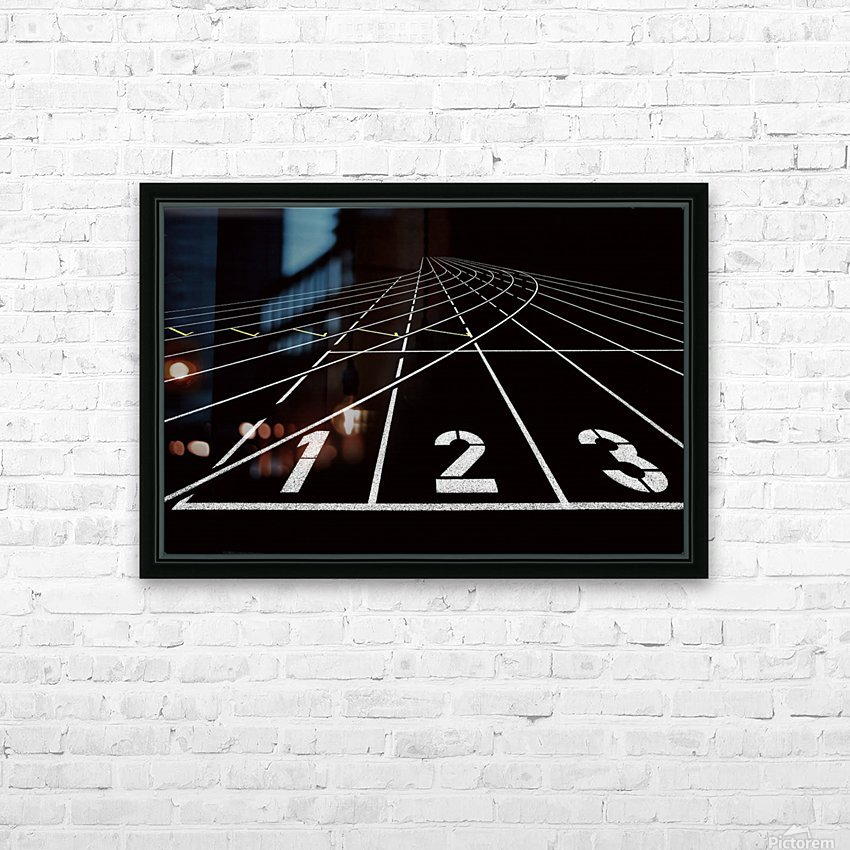 123 HD Sublimation Metal print with Decorating Float Frame (BOX)