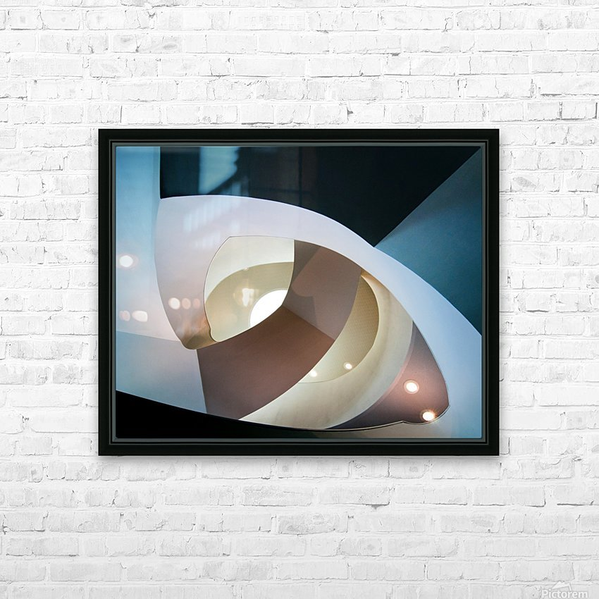 Top light HD Sublimation Metal print with Decorating Float Frame (BOX)