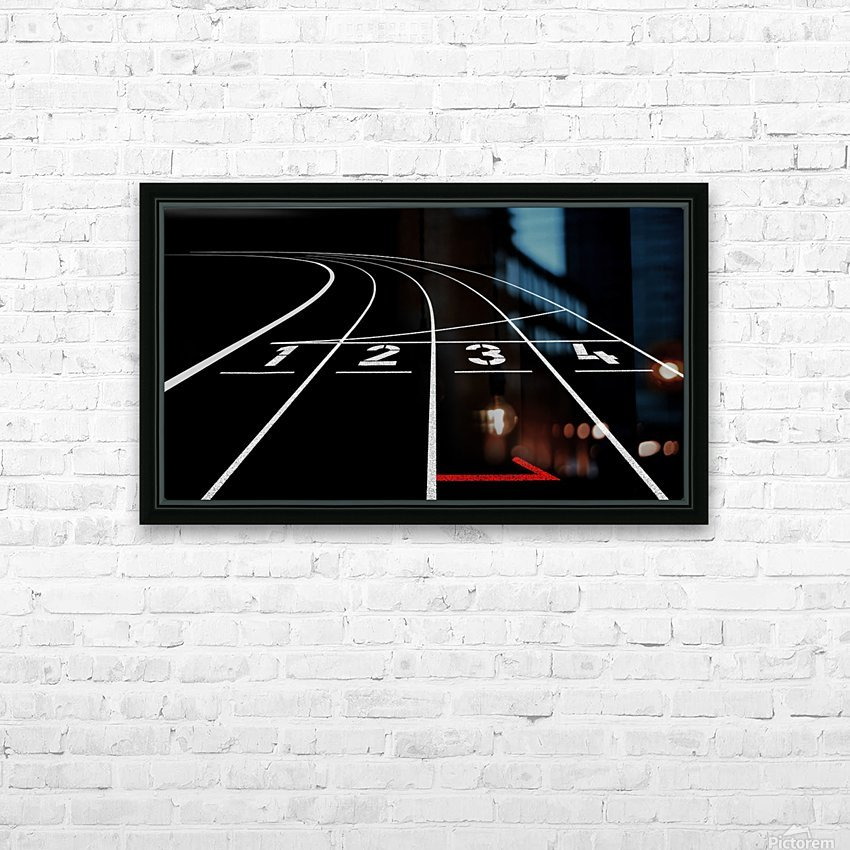 1 2 3 4 HD Sublimation Metal print with Decorating Float Frame (BOX)
