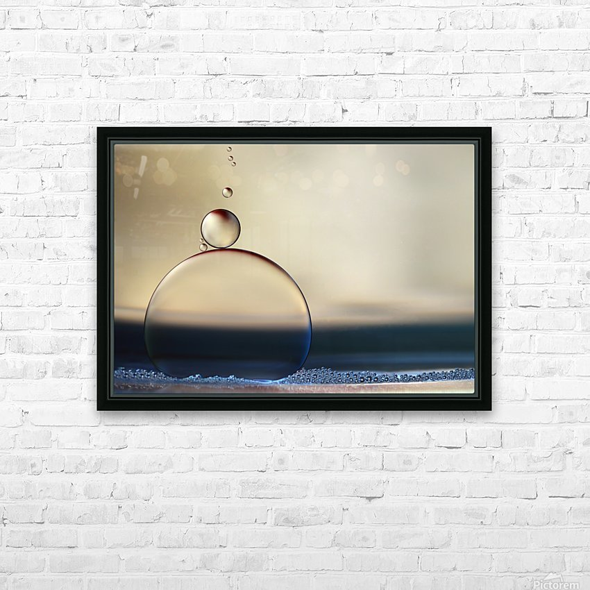 the stragglers HD Sublimation Metal print with Decorating Float Frame (BOX)