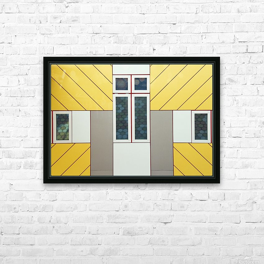 Facade HD Sublimation Metal print with Decorating Float Frame (BOX)