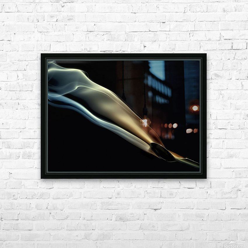 Silk HD Sublimation Metal print with Decorating Float Frame (BOX)
