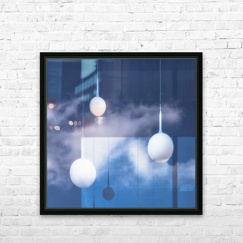 This is not an illusion. HD Sublimation Metal print with Decorating Float Frame (BOX)