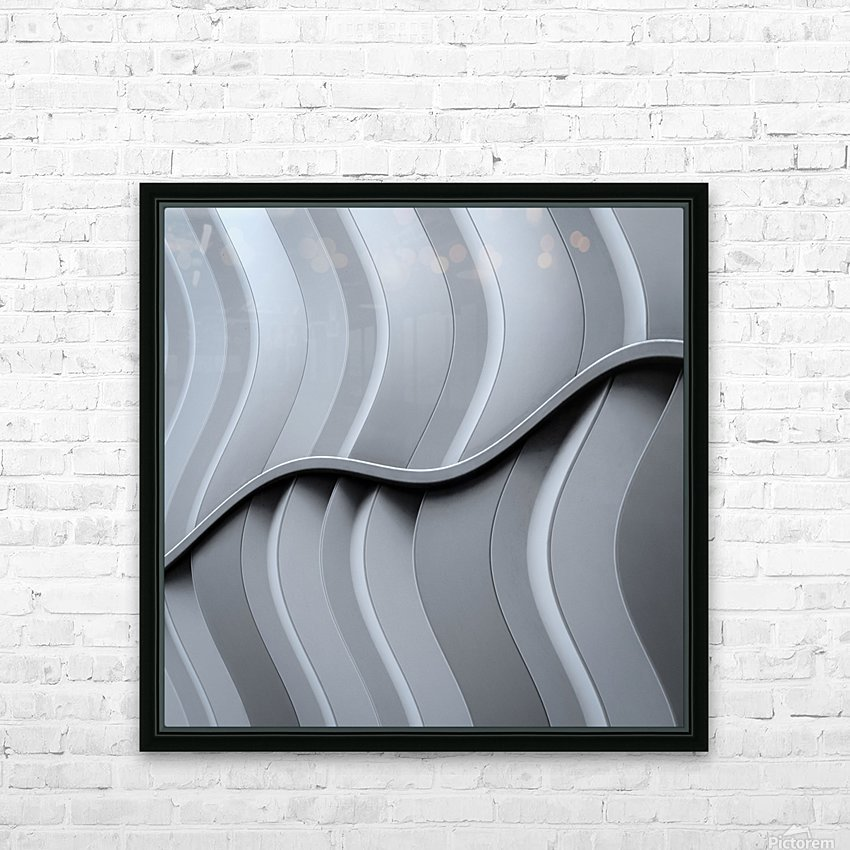 Just form,no function HD Sublimation Metal print with Decorating Float Frame (BOX)