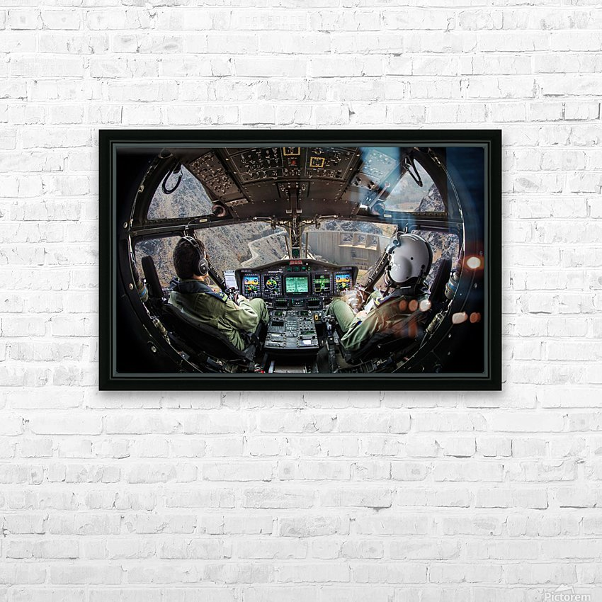 Dam HD Sublimation Metal print with Decorating Float Frame (BOX)