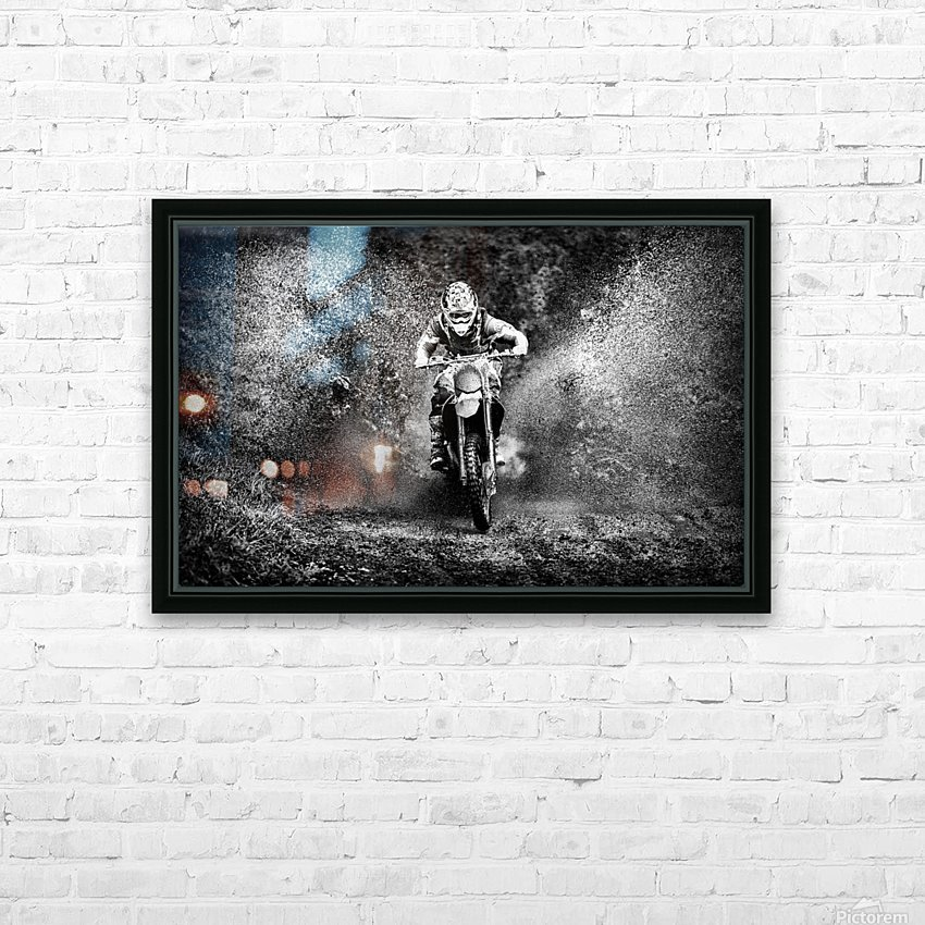 * HD Sublimation Metal print with Decorating Float Frame (BOX)