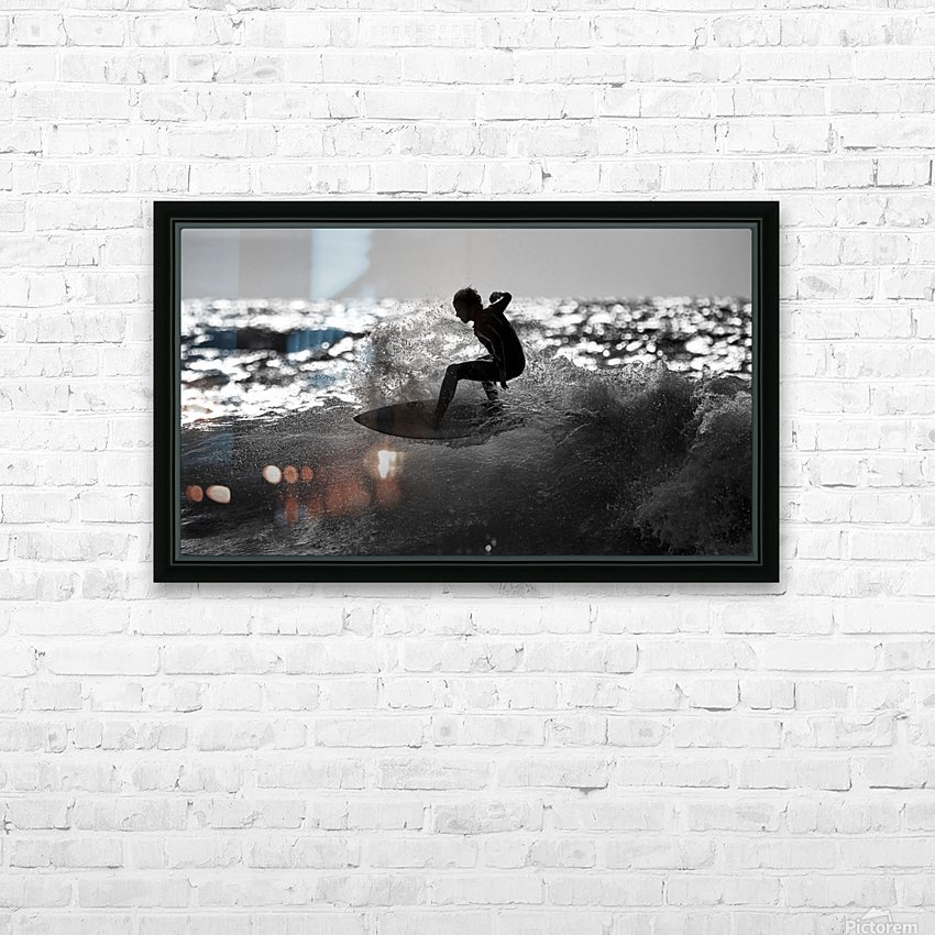 Ride HD Sublimation Metal print with Decorating Float Frame (BOX)