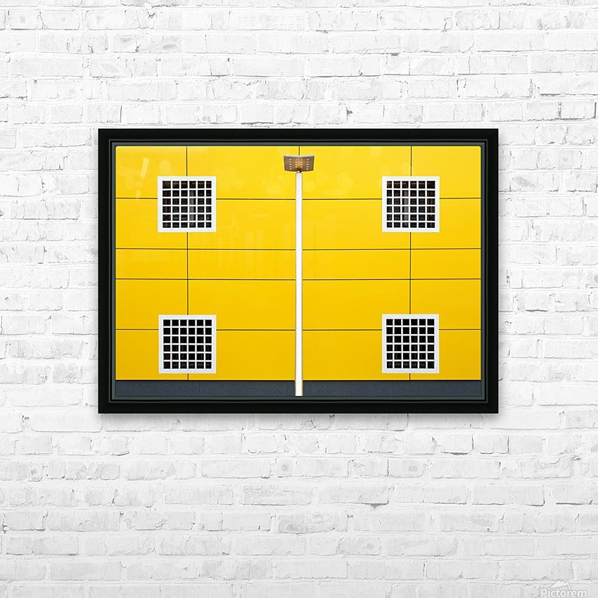 four square HD Sublimation Metal print with Decorating Float Frame (BOX)